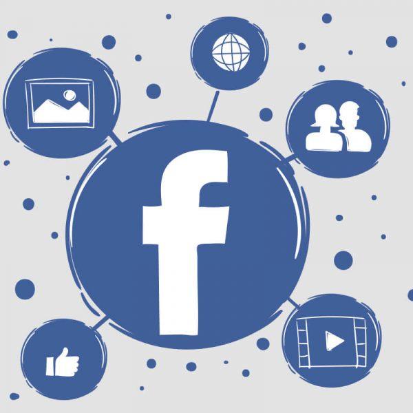 חלק אחורי בלוג פייסבוק