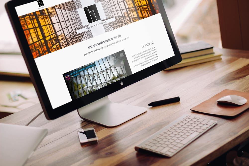 ואגס VGS עיצוב ובניית אתר ריספונסיבי ה.ו. אלומיניום