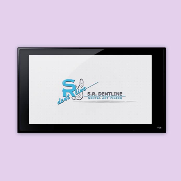 אנימציה לוגו – ׳אס.אר.דנטליין׳