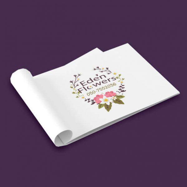 עדן פרחים לוגו