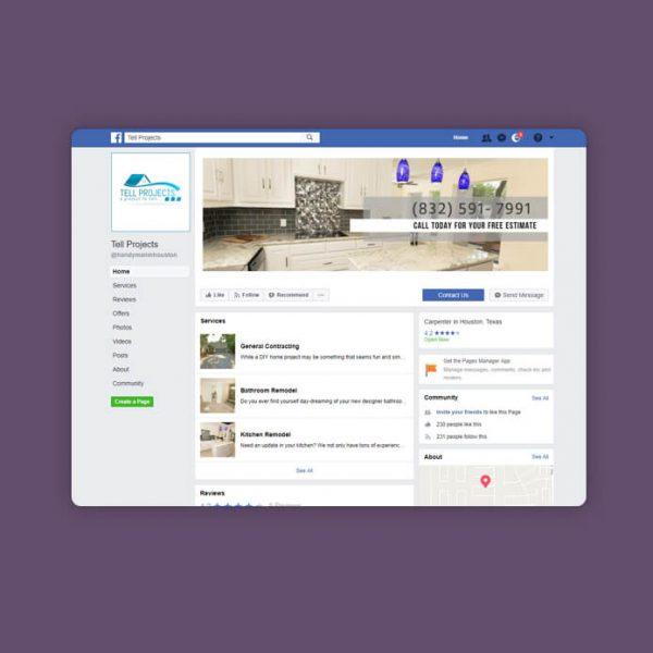 קידום בפייסבוק טל פרוייקטים